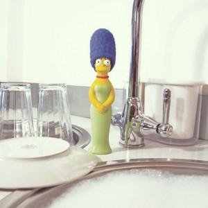 Spugna Lava Piatti Marge Simpsons