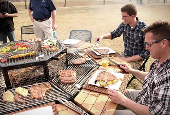Tavolo Da Giardino Con Barbecue.Jag Grill Tavolo Bbq Miss Idee Regalo