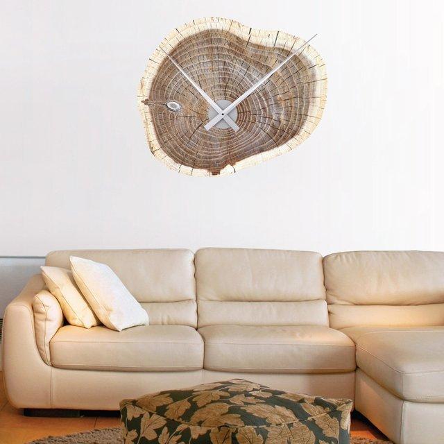 Decalcomania orologio da muro legno miss idee regalo for Orologio da muro farfalle